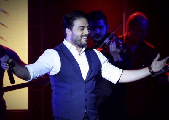 عکس های جدید بابک جهانبخش و همسرش در کنسرت معین راهبر