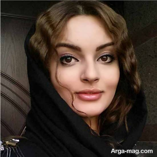 عکس متفاوت و زیبای نیلوفر پارسا