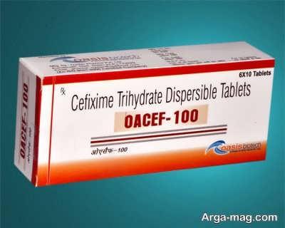 توصیه های دارویی قرص سفکسیم