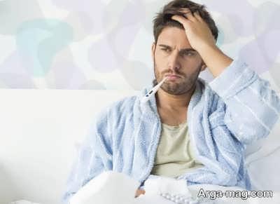 درمان خانگی تب در منزل