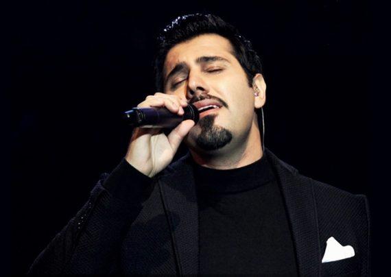 خواننده محبوب ایران و همسرش در چهارمین جشن سالانه موسیقی ما
