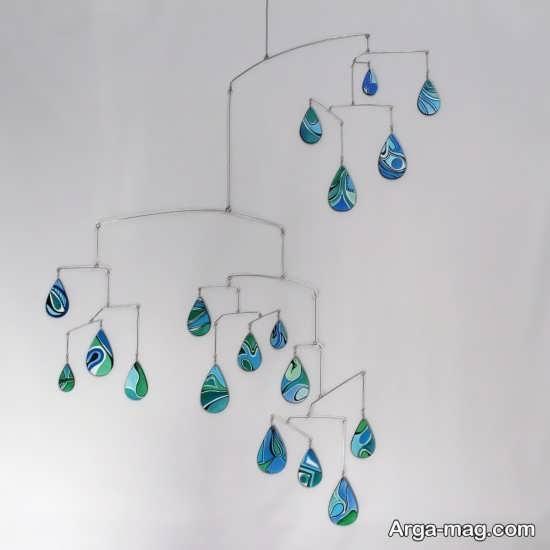 کاردستی جالب قطرات باران