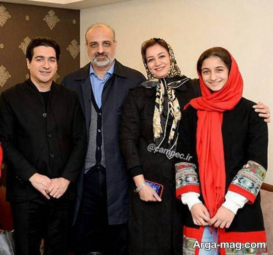 عکسی از محمد اصفهانی و همسرش