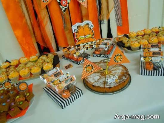 برگزاری جشن با تم گارفیلد