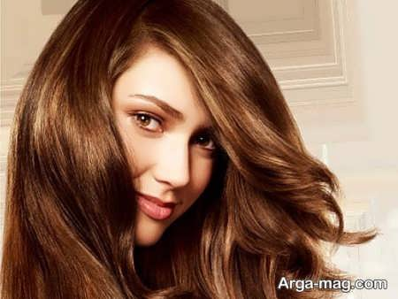 رنگ موی خرمایی زنانه