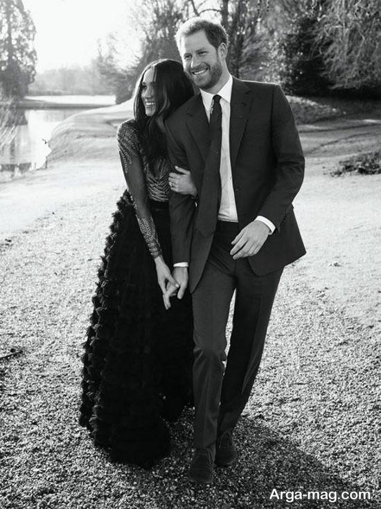 عکسهای پرنس هری و مگان مارکل