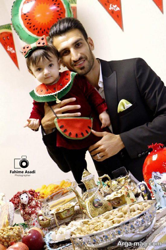 عکس های حسین ماهینی و همسرش