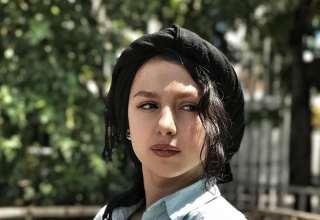 عکس های زیبای جوانه دلشاد در اکران خصوصی فیلم آپاندیس