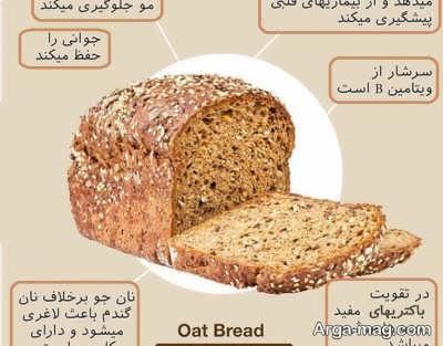 فواید بی نظیر نان جو برای بدن