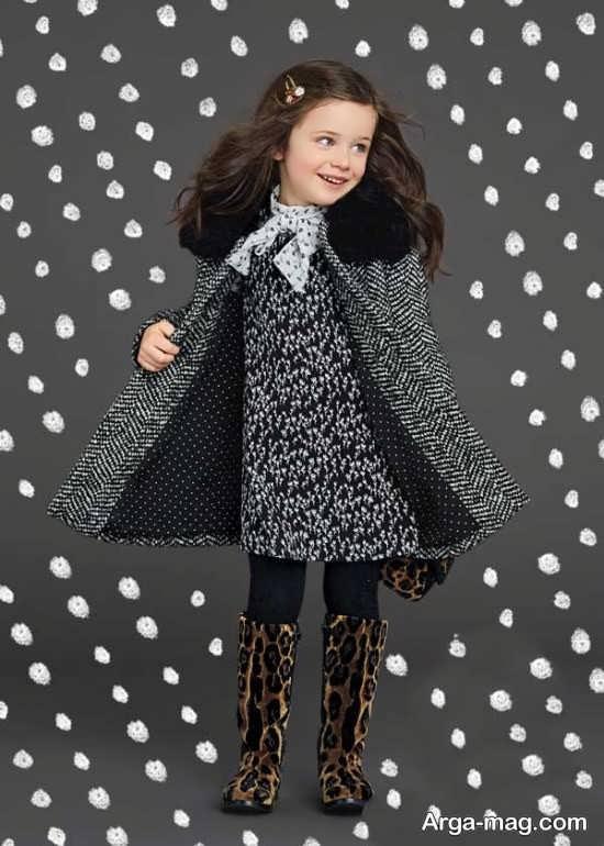 مدل سارافون دخترانه بچه گانه زمستانی
