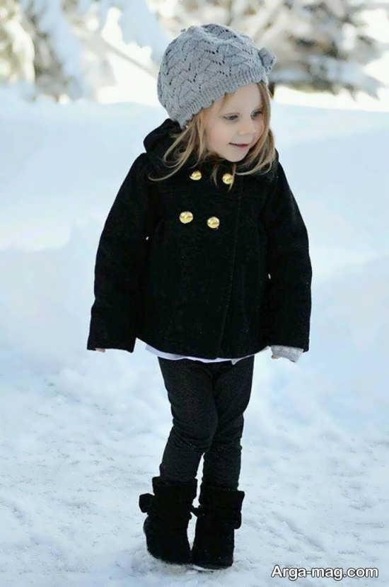 شنل زمستانی شیک بچه گانه