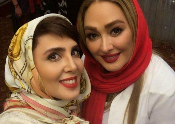 الهام حمیدی و لیلا بلوکات