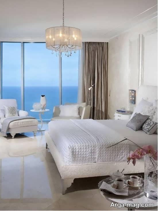 لوستر زیبا برای اتاق خواب