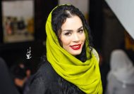 عکس های حضور دختر محمدرضا شریفی نیا در اکران فیلم آینه بغل