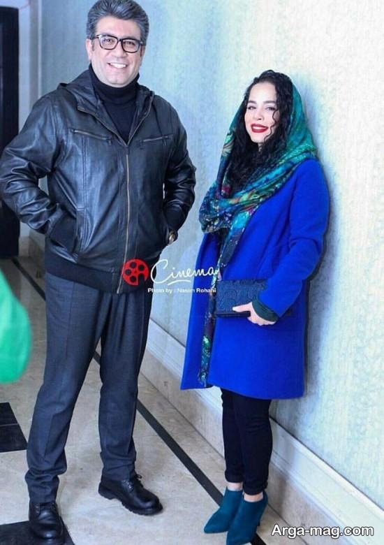 عکس هایی از تیپ جدید ملیکا شریفی نیا در اکران خصوصی فیلم آینه بغل