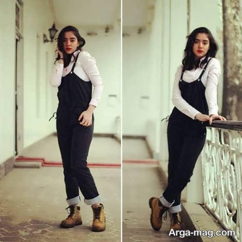 مدل شلوار دخترانه جدید بندی