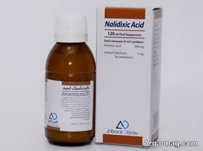 روش و مقدار مجاز مصرف قرص نالیدیکسیک اسید
