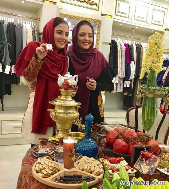 عکس های جدید نرگس محمدی و خواهرش