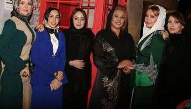بازیگران زن مشهور در مهمانی