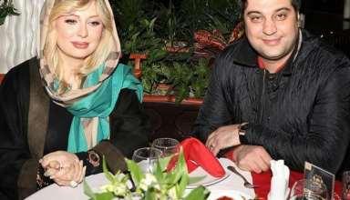 عکس نیوشا ضیغمی و همسرش