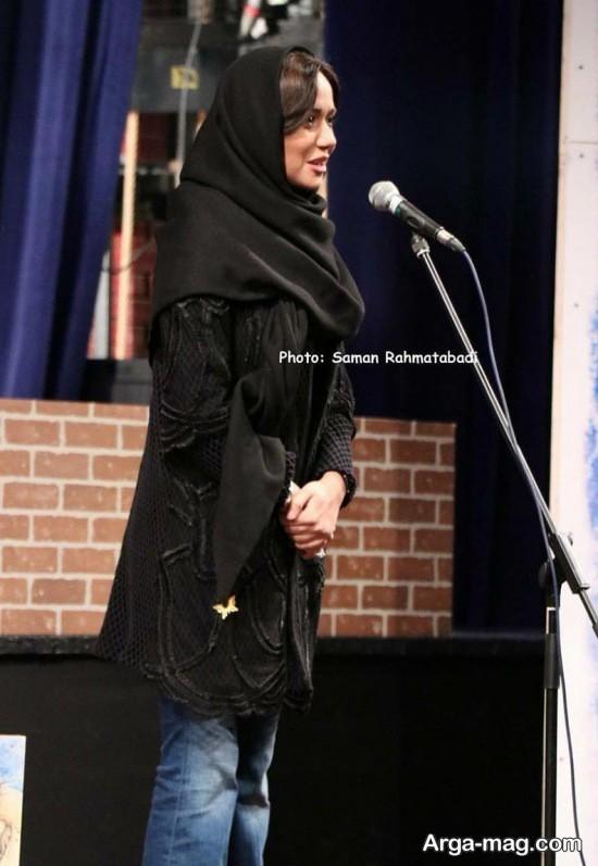 پریناز ایزدیار در جشن مجله چلچراغ