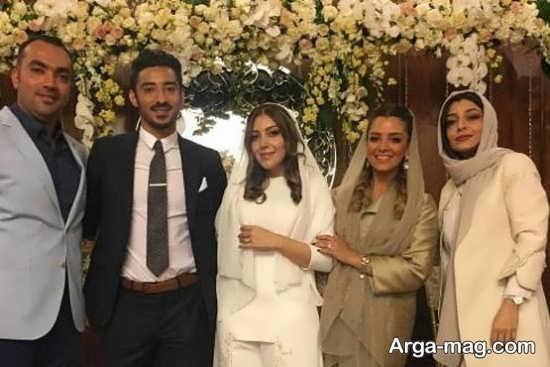 ازدواج رضا و سروین خواهر ساره بیات
