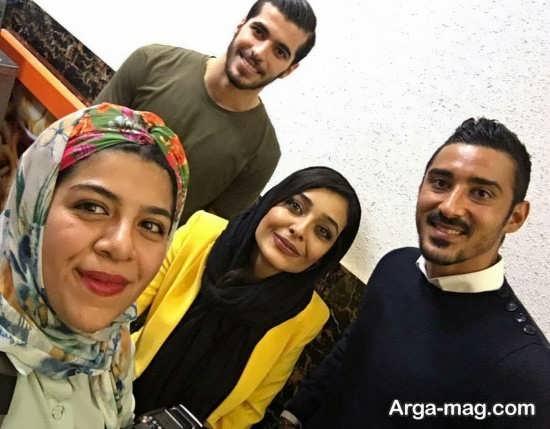 بیوگرافی همسر رضا سروین بیات