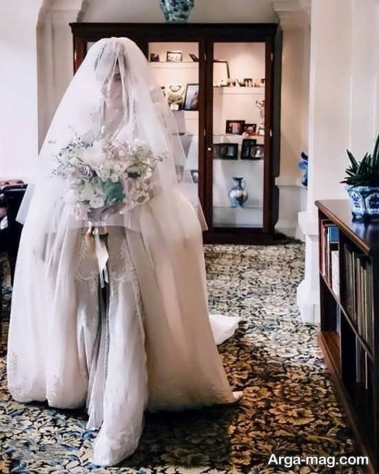 عکس از سروین در شب عروسی اش