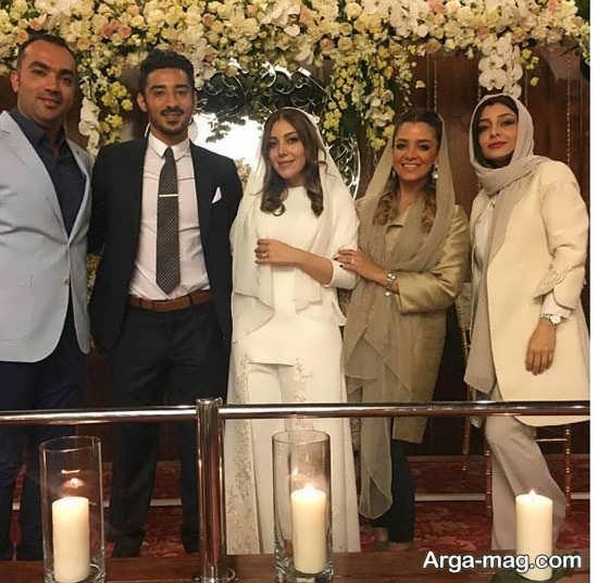 جشن ازدواج سروین بیات با رضا