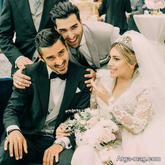 مراسم با شکوه ازدواج رضا قوچان نژاد با سروین بیات