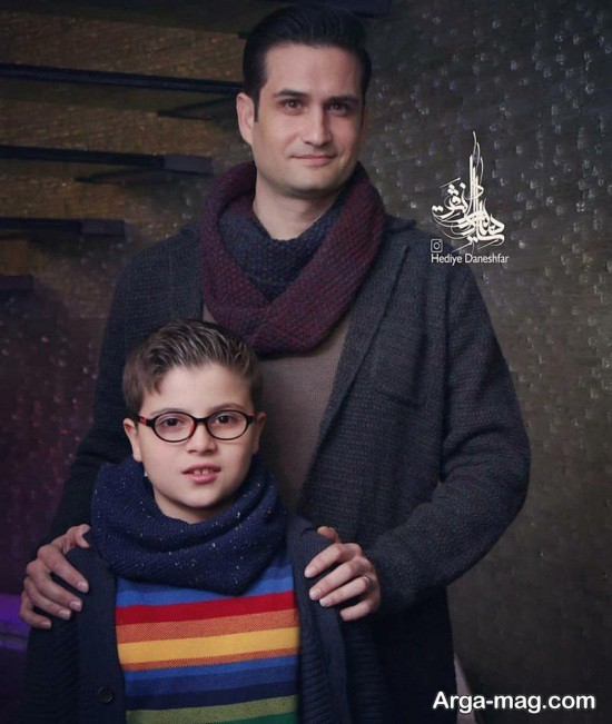 عکس های جدید پویا امینی و پسرش