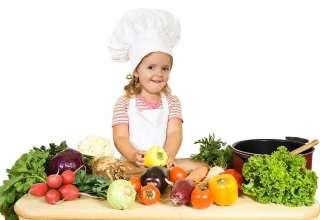 رژیم غذایی برای کودکان لاغر
