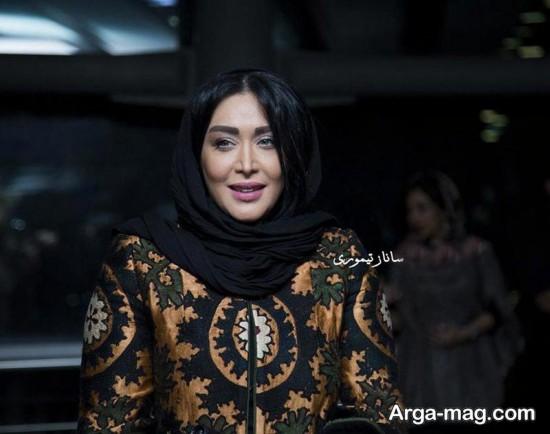 سارا منجزی بازیگر کلاه پهلوی