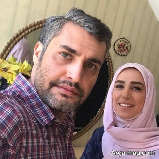 سلفی سوگل طهماسبی و امیر محمد زند