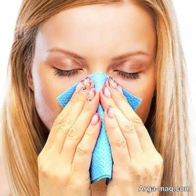 درمان خانگی تبخال بینی