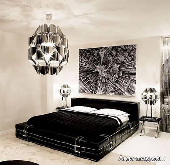 مدل تخت خواب اسپرت مشکی