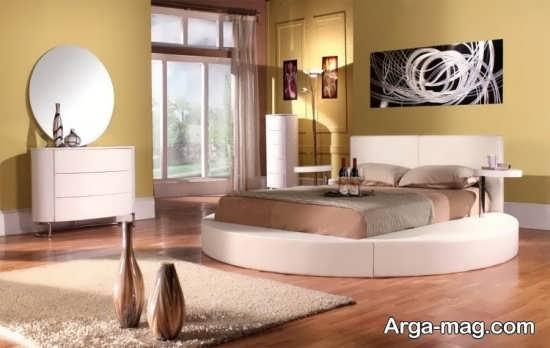 تخت خواب متفاوت و زیبا