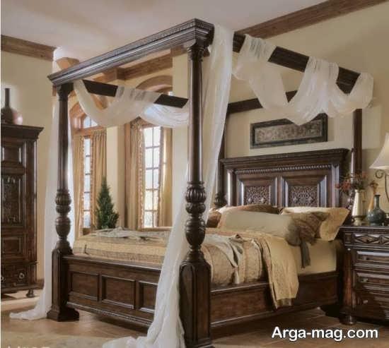 سرویس خواب مدل چوب
