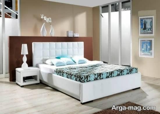 تخت خواب ساده و شیک