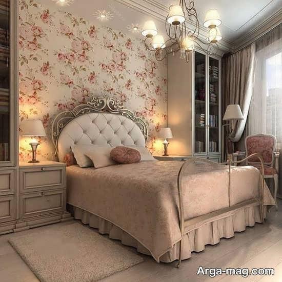 تخت خواب برای اتاق بزرگ