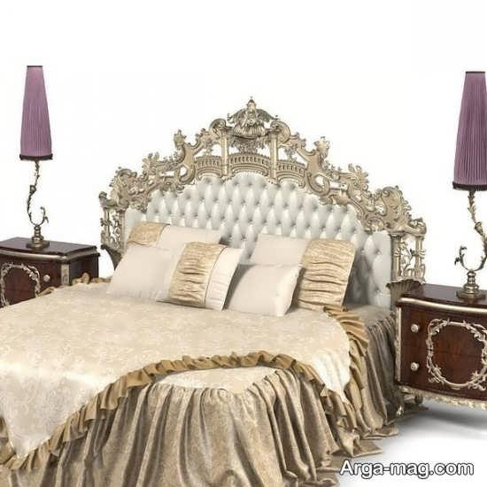 تخت خواب برای سرویس عروس