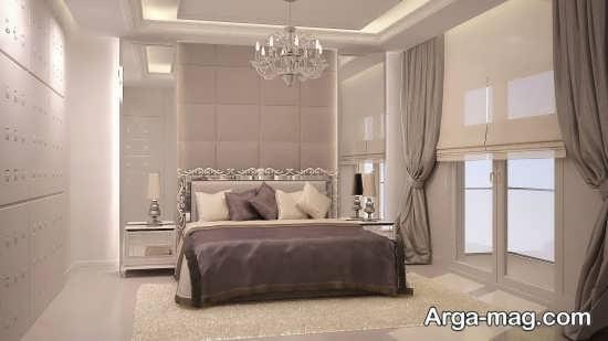 تخت خواب کلاسیک با رنگ خاص