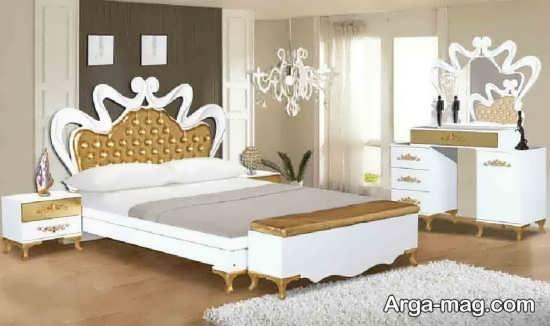 تخت خواب کلاسیک ترکیه ای