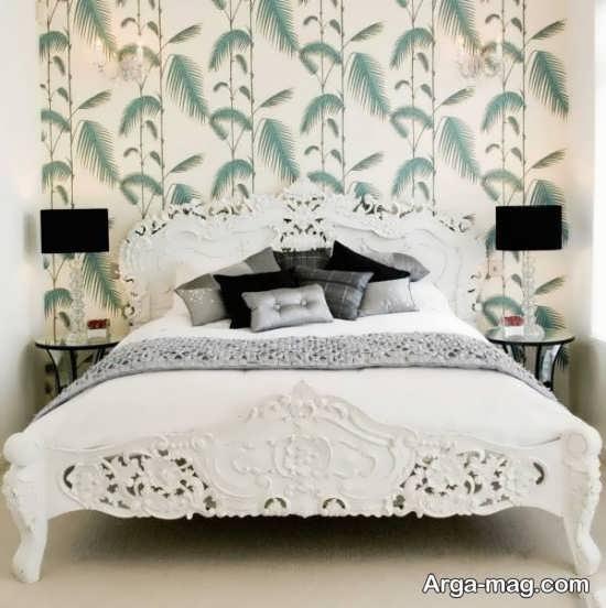 مدل تخت خواب کلاسیک جدید