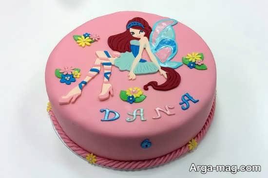 تزیین کیک تولد با تم وینکس
