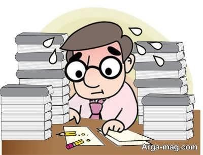 برنامه ریزی و کاهش استرس