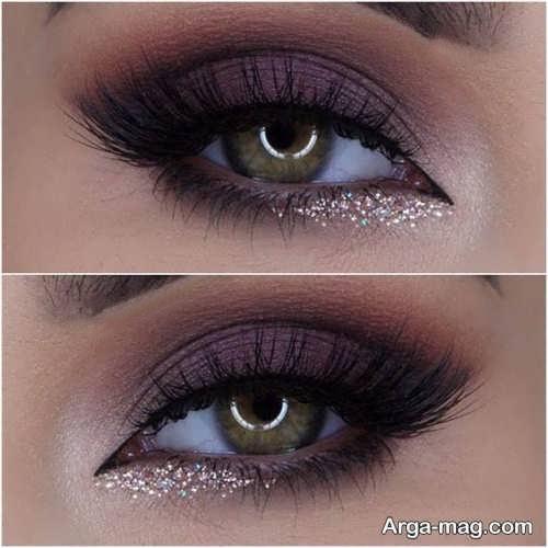 مدل آرایش چشم زنانه شیک