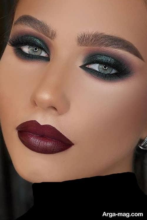 مدل آرایش چشم زنانه 2018