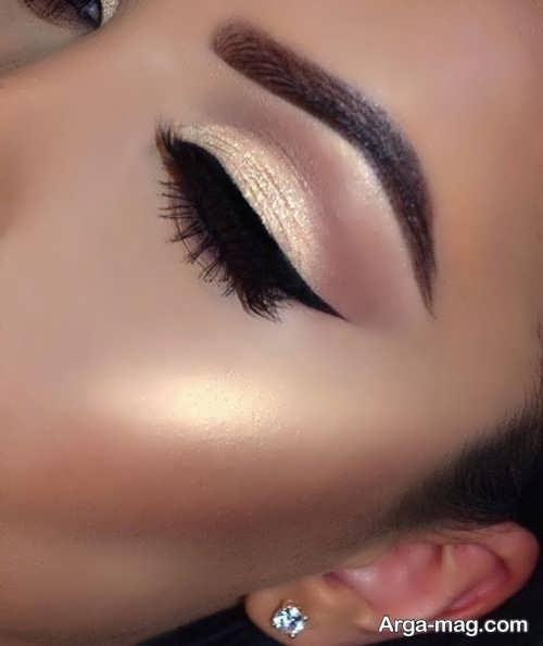 مدل میکاپ چشم شیک و زیبا
