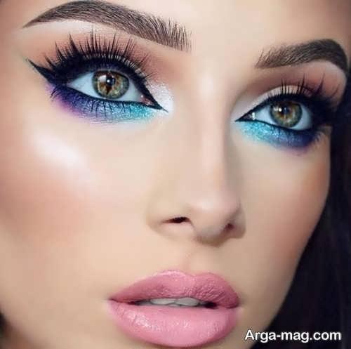 مدل آرایش چشم 2018 زنانه